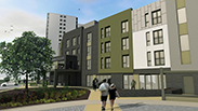 Offsite starts on site for Nottingham extra care facility